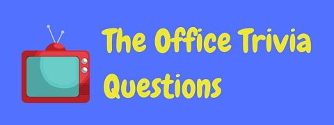 Header image for a page of The Office trivia questions and answers.